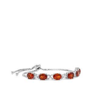 Madeira Citrine Slider Bracelet in Sterling Silver 5.88cts