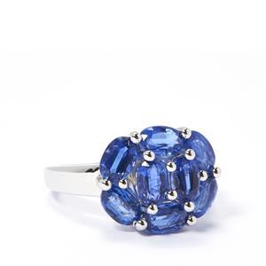 4.90cts Himalayan Kyanite Sterling Silver Ring