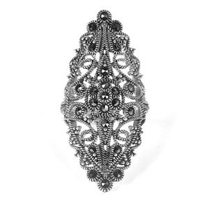 Natural Marcasite Jewels of Valais Ring in Sterling Silver 0.35ct