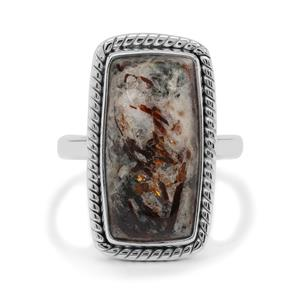 Astrophyllite Ring in Sterling Silver 9.50cts