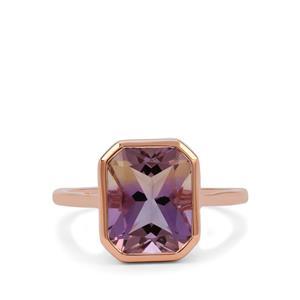 Anahi Ametrine Ring in 9K Rose Gold 3.75cts