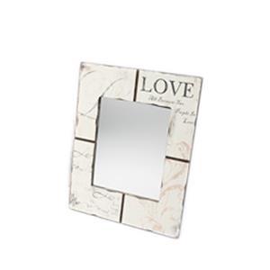 Vintage Style Love Mirror 31.7 x 1.2 x 40.7cm