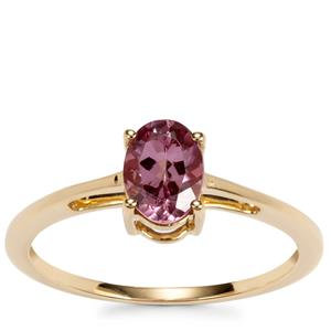 Mahenge Pink Spinel Ring in 9K Gold 0.81ct