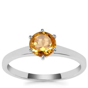 Diamantina Citrine Ring in Sterling Silver 0.78ct