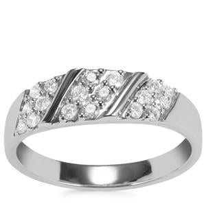 Diamond Ring in Platinum 950 0.34ct