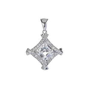 Ratanakiri Zircon Pendant in Sterling Silver 1.79cts