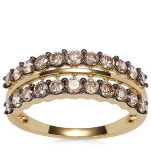 Argyle Diamond Ring in 18K Gold 1.05ct