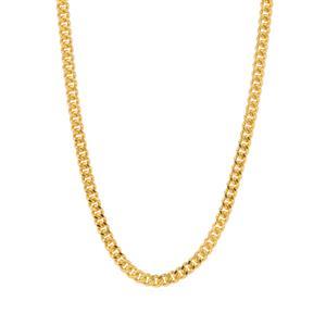 """18"""" Midas Classico Diamond Cut Curb Chain 1.20g"""
