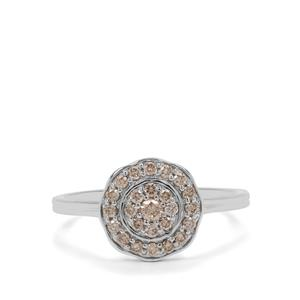 1/3ct Argyle Diamond 9K White Gold Ring