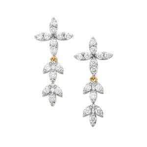 1/2ct Internally Flawless Diamond 18K Gold Tomas Rae Earrings