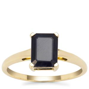 Ethiopian Blue Sapphire Ring in 9K Gold 1.93cts