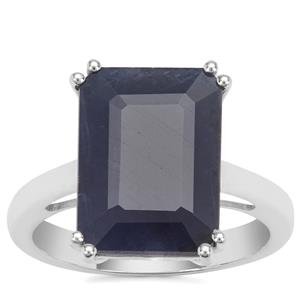 Bharat Blue Sapphire Ring in Sterling Silver 8.62cts