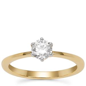 Diamond Ring in 18K Gold 0.52cts