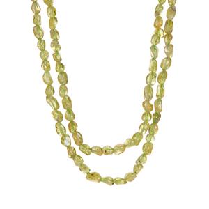 Changbai Peridot Necklace 234cts