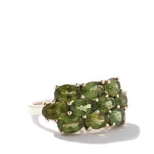 Mandrare Green Apatite Sterling Silver Ring  ATGW 4.93cts