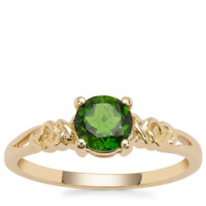 Chrome Diopside Ring in 9K Gold 0.81ct