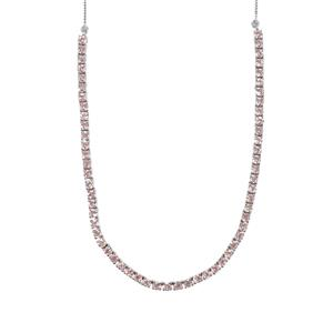 Kaffe Tourmaline Necklace in Sterling Silver 7.28cts