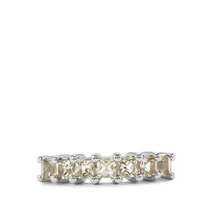 1.07ct Serenite Sterling Silver Ring