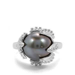 Maruata Cultured Pearl Sterling Silver Ring (11.50mm)