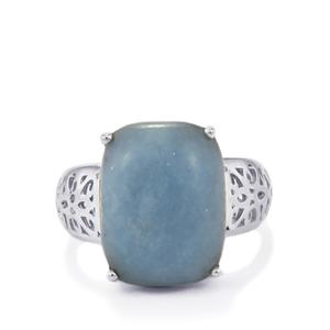 10.24ct Angelite Sterling Silver Ring