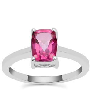Mystic Pink Topaz Ring in Sterling Silver 1.65cts