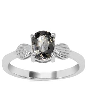 Burmese Multi-Colour Spinel Ring in Sterling Silver 1.24cts