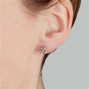 Champagne Danburite Earrings  in Sterling Silver 1.53cts