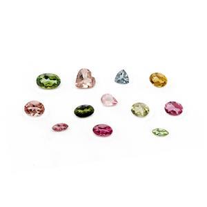 Multi-Colour Tourmaline Loose stone  2.26cts