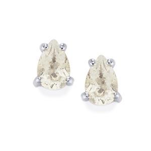 Topaz Earrings in Sterling Silver 0.92ct