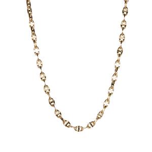 "18"" 9K Gold Tempo Mariner Chain 2.19g"