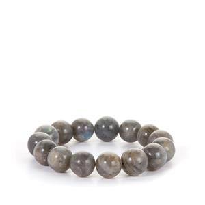 277ct Labradorite Stretchable Bracelet