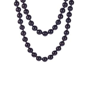 Black Onyx Necklace 605ct