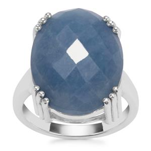 Angelite Ring in Sterling Silver 14.87cts