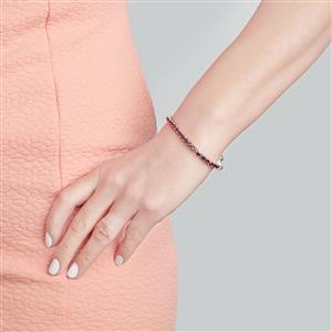 Rajasthan Garnet Bracelet in Sterling Silver 8.05cts