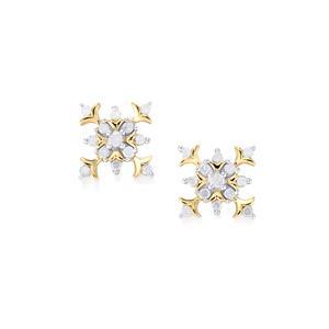 Diamond Earrings in 10k Gold 0.26ct