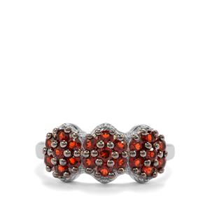 Anthill Garnet Ring in Sterling Silver 1.23cts