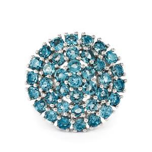 5ct Marambaia London Blue Topaz Sterling Silver Ring