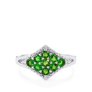 0.84ct Chrome Diopside Sterling Silver Ring