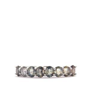 1.88ct Tunduru Colour Change Sapphire Sterling Silver Ring