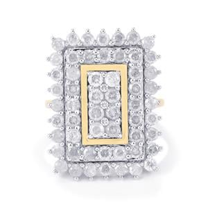 Diamond Ring in 10k Gold 3ct