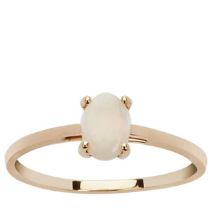 Coober Pedy Opal Ring in 9K Gold 0.5ct