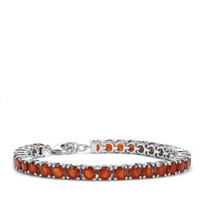 Loliondo Orange Kyanite Bracelet in Sterling Silver 19.77cts
