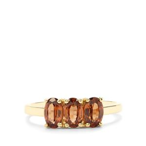 2.07ct Capricorn Zircon 10K Gold Ring