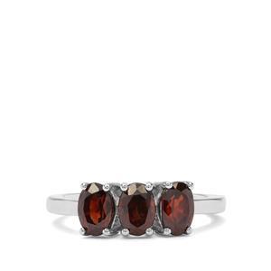 2.64ct Cinnamon Zircon Sterling Silver Ring