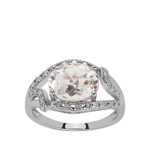 Cullinan Topaz Ring in Sterling Silver 3.10cts