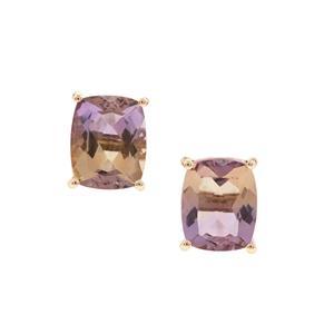 Anahi Ametrine Earrings in 9K Gold 5.31cts
