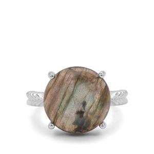 9.80ct Labradorite Sterling Silver Ring