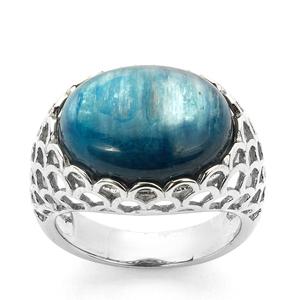 13.45ct Daha Kyanite Sterling Silver Ring