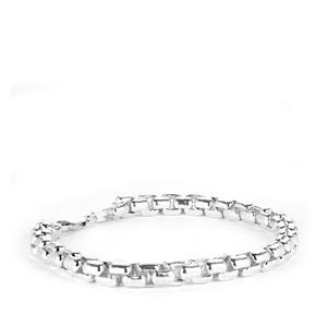"8.5"" Sterling Silver Altro Rolo Bracelet 33.8g"