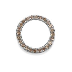 1.50ct Tsivory Colour Change Garnet Sterling Silver Pendant